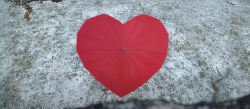 Heart Umbrella - John Lewis Christmas Advert 2020
